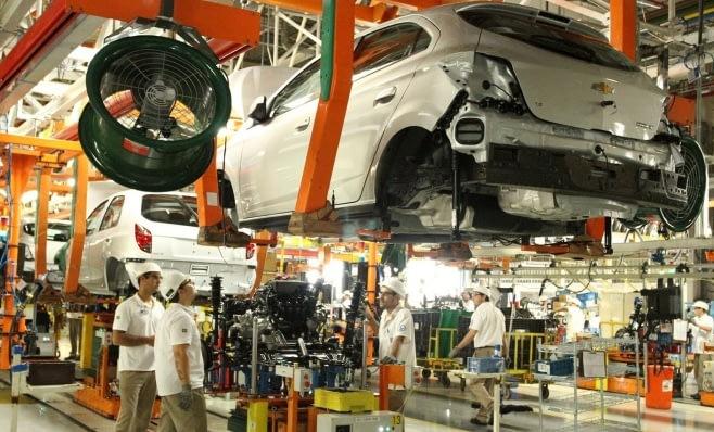 Imagem ilustrativa da notícia: Chevrolet Onix: 1 milhão de unidades produzidas.