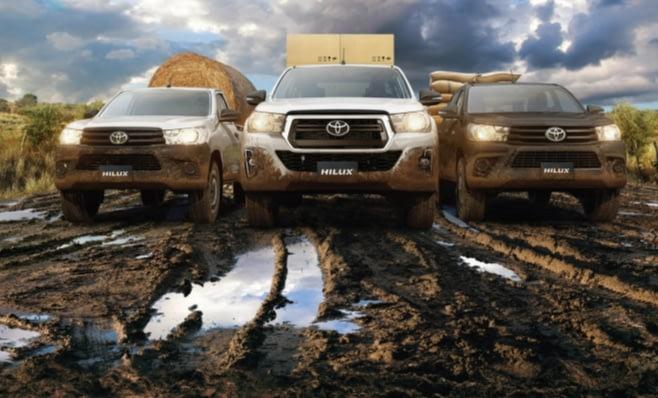 Imagem ilustrativa da notícia: Toyota apresenta picape Hilux 2019