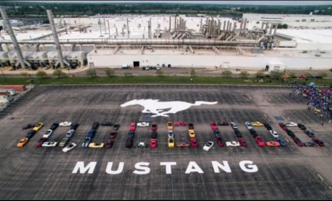 Imagem ilustrativa da notícia: Ford produziu 10 milhões de Mustang