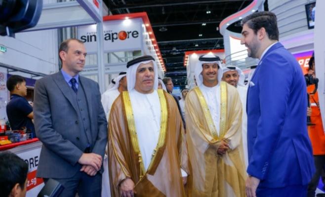 Imagem ilustrativa da notícia: Feira em Dubai rende US$ 1,2 milhão a autopeças