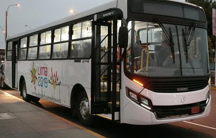 Imagem ilustrativa da notícia: Ônibus M-B serão usados nos jogos Pan-Americanos