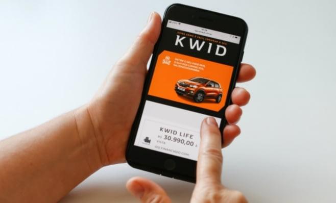 Imagem ilustrativa da notícia: Renault vende cinco mil Kwid pela internet