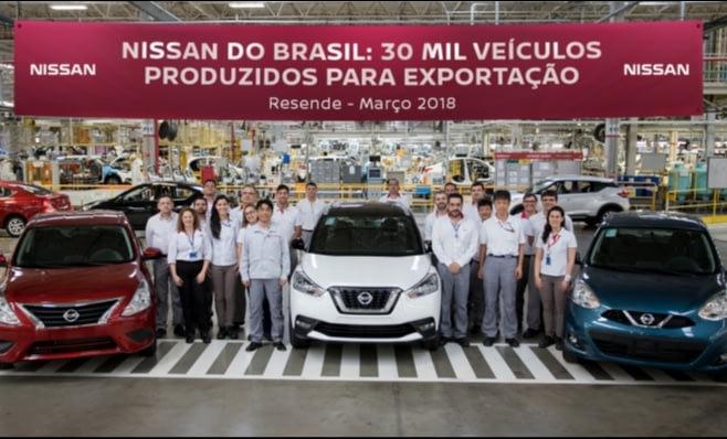 Imagem ilustrativa da notícia: 30 mil Nissan de Resende já foram exportados