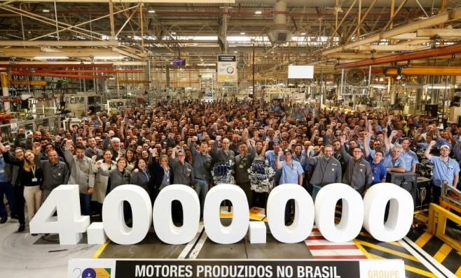 Imagem ilustrativa da notícia: Renault festeja 4 milhões de motores brasileiros