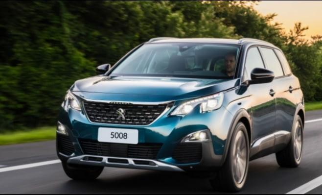 Imagem ilustrativa da notícia: Peugeot lança 5008 e completa gama de SUVs