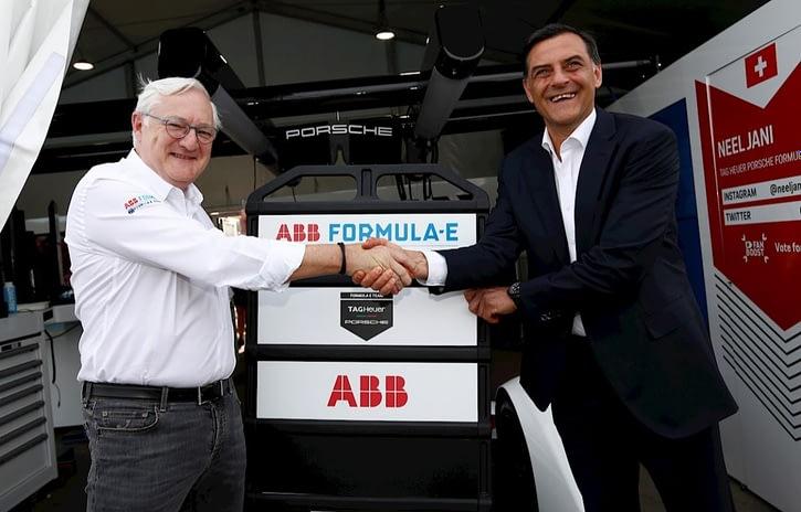 Imagem ilustrativa da notícia: ABB e Porsche se unem para promover a mobilidade elétrica