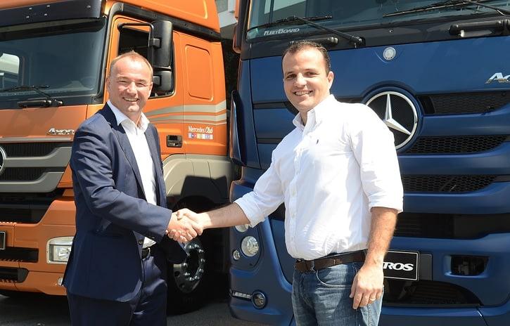 Imagem ilustrativa da notícia: Ambev adquire quinhentos caminhões Mercedes-Benz