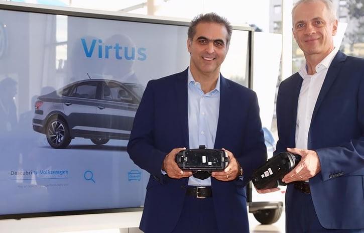 Imagem ilustrativa da notícia: Argentina começa a receber concessionária digital VW