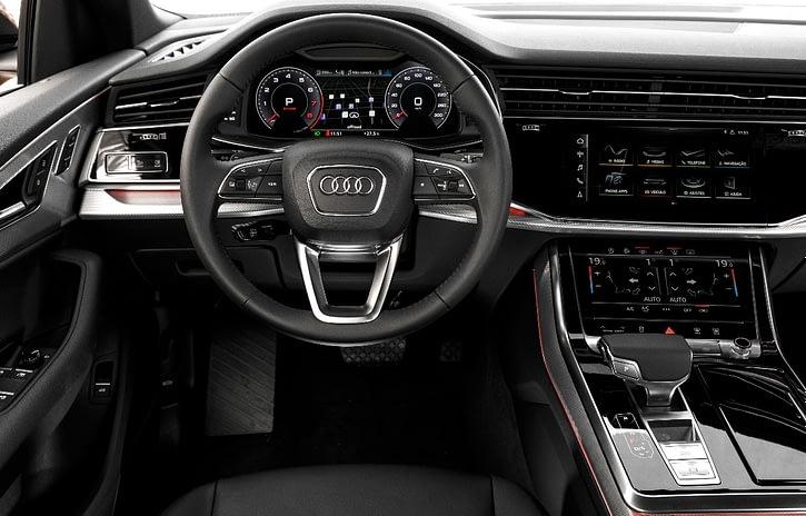 Imagem ilustrativa da notícia: Tecnologia híbrida é um dos destaques do Audi Q8
