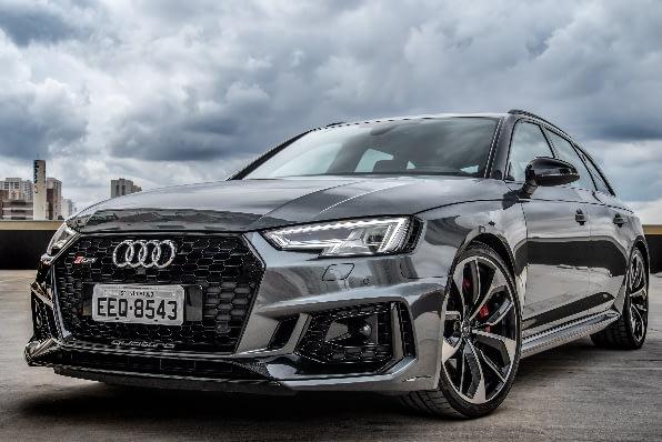 Imagem ilustrativa da notícia: Audi RS 4 Avant chega por R$ 547 mil