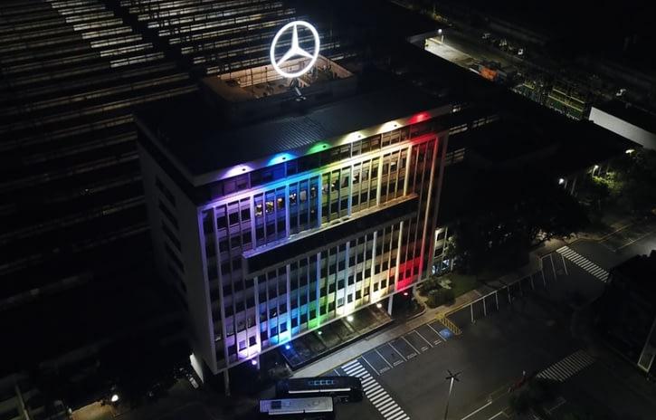 Imagem ilustrativa da notícia: Banco Mercedes-Benz espera recordes como presente em seu jubileu de prata