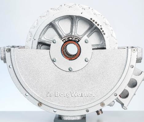 Imagem ilustrativa da notícia: BorgWarner fornecerá motor elétrico para caminhão híbrido
