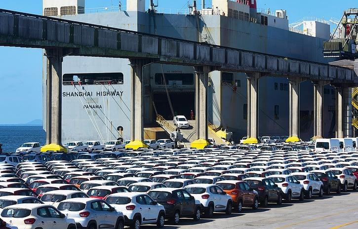 Imagem ilustrativa da notícia: Brasil exportou mais de 129 mil veículos até abril