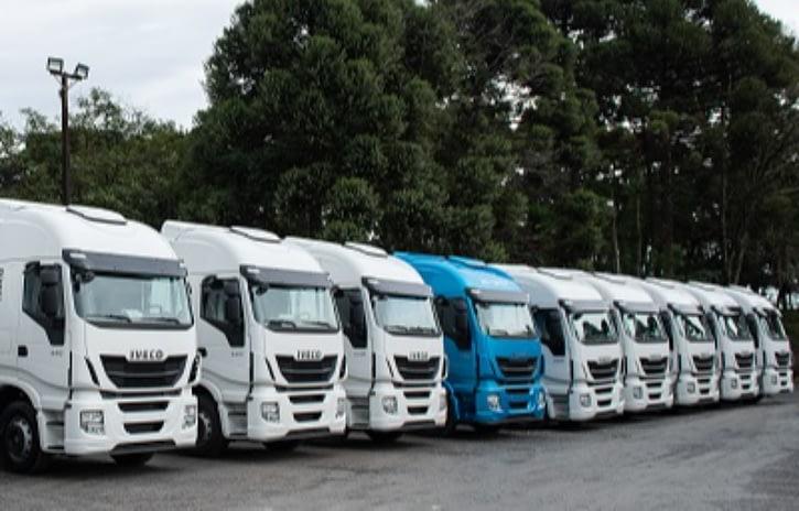 Imagem ilustrativa da notícia: BRLOG renova frota com doze caminhões Iveco