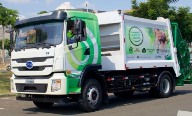 Imagem ilustrativa da notícia: BYD vende duzentos caminhões elétricos para Corpus