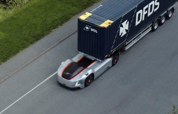 Imagem ilustrativa da notícia: Caminhão autônomo Volvo tem primeiro teste na Suécia