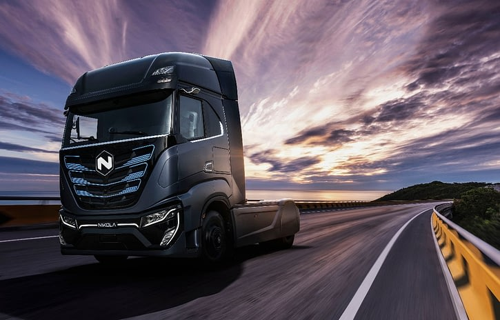 Imagem ilustrativa da notícia: Caminhão elétrico Iveco-Nikola chega em 2020