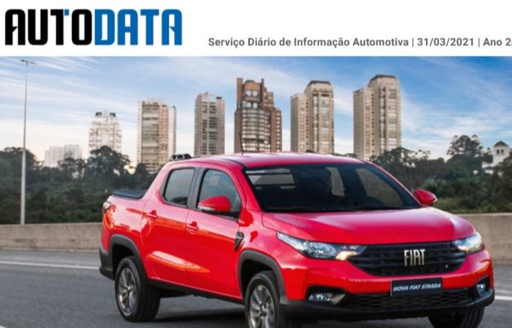 Imagem ilustrativa da notícia: Case: a edição 5 mil da Agência AutoData de Notícias.