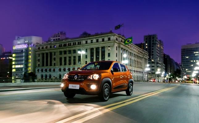 Imagem ilustrativa da notícia: Kwid é o carro-chefe da Renault