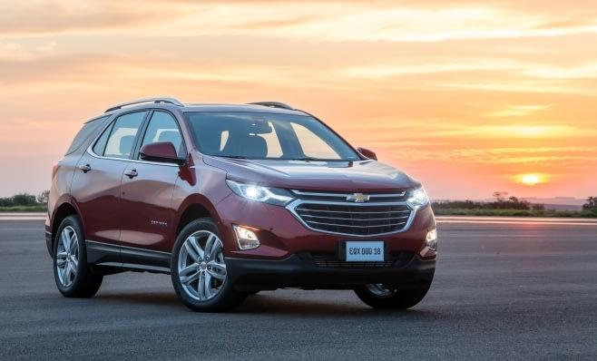 Imagem ilustrativa da notícia: Com muita tecnologia, Chevrolet Equinox chega por R$ 149 mil 990