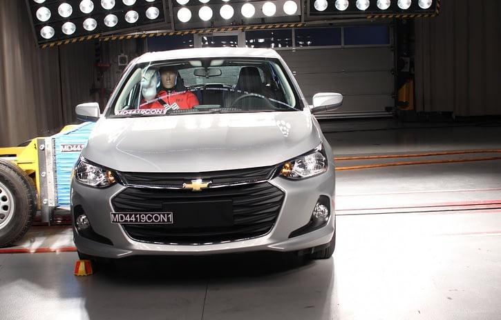 Imagem ilustrativa da notícia: Chevrolet Onix recebe nota máxima do Latin NCAP