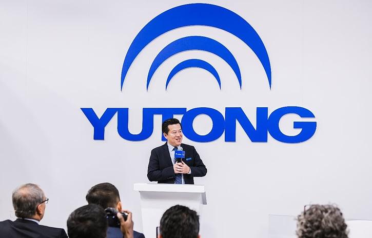 Imagem ilustrativa da notícia: Chinesa Yutong quer crescer no mercado europeu