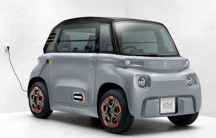 Imagem ilustrativa da notícia: Citroën começa a vender o elétrico AMI na França