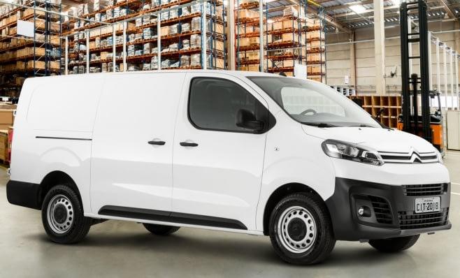 Imagem ilustrativa da notícia: Citroën lança furgão Jumpy e quer crescer no segmento de comerciais leves