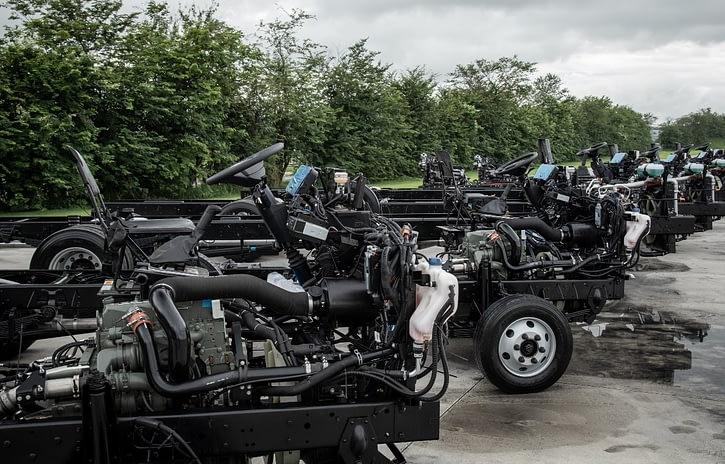 Imagem ilustrativa da notícia: Cresce a produção de chassis de ônibus