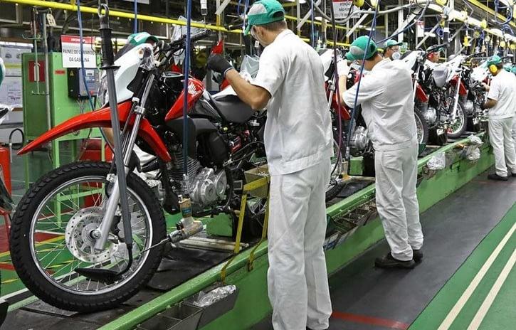 Imagem ilustrativa da notícia: Cresce a produção de motocicletas no bimestre