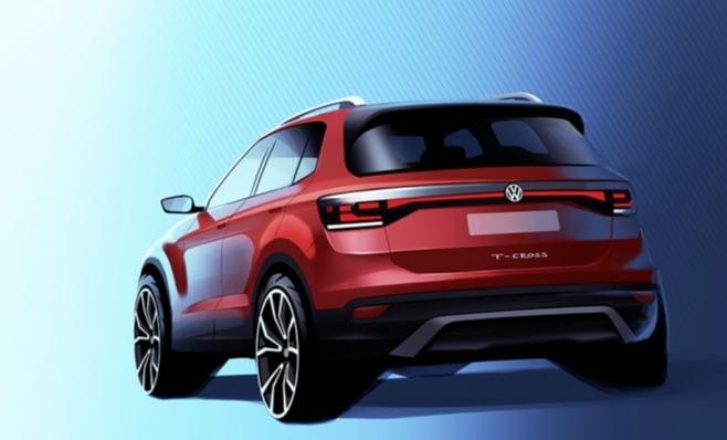 Imagem ilustrativa da notícia: Volkswagen divulga imagem do T-Cross