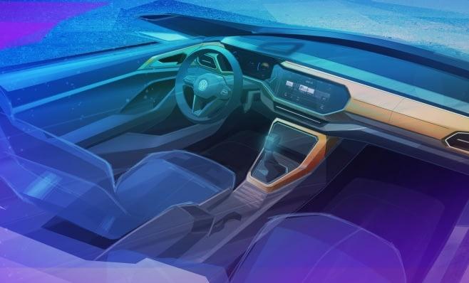 Imagem ilustrativa da notícia: VW mostra teaser do interior do T-Cross
