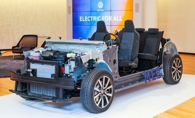 Imagem ilustrativa da notícia: Volkswagen desenvolve plataforma para elétricos