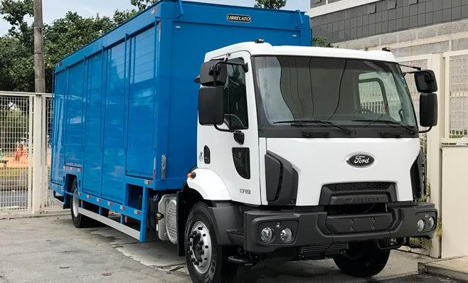 Imagem ilustrativa da notícia: Reforço: caminhões vocacionados da Ford.