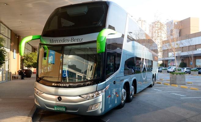 Imagem ilustrativa da notícia: Gaúchas compram 72 ônibus da Mercedes-Benz