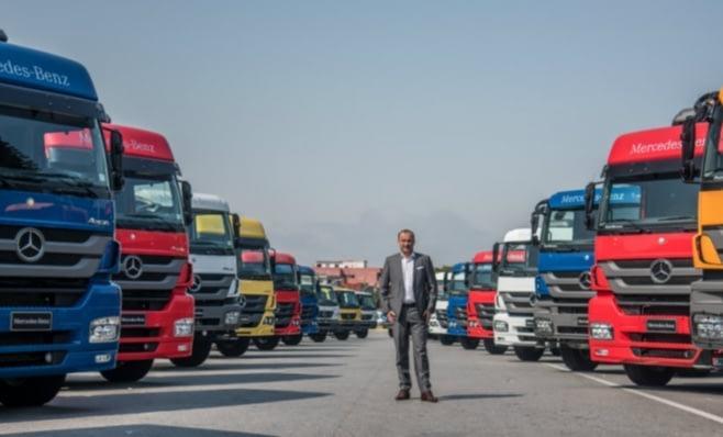 Imagem ilustrativa da notícia: Daimler: vendas crescem 9% com destaque para o Brasil.