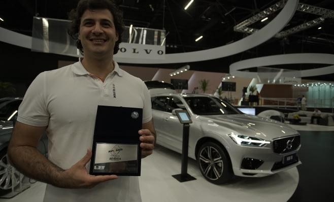 Imagem ilustrativa da notícia: Volvo Cars recebe sua placa do Prêmio AutoData