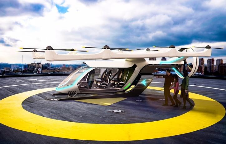 Imagem ilustrativa da notícia: Embraer faz acordo para testar carro voador na América Latina