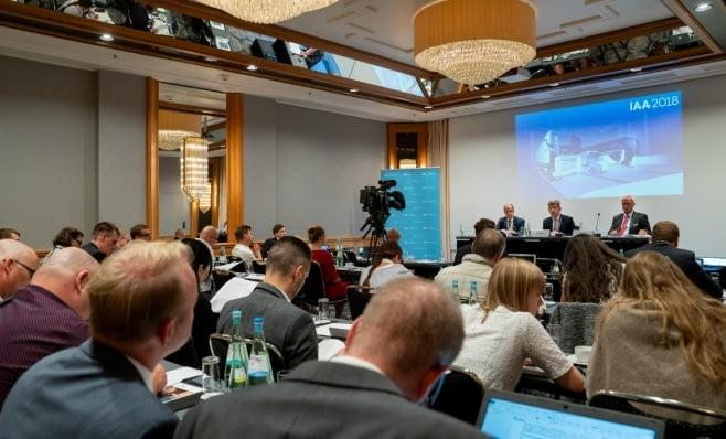 Imagem ilustrativa da notícia: IAA mostra o futuro dos comerciais