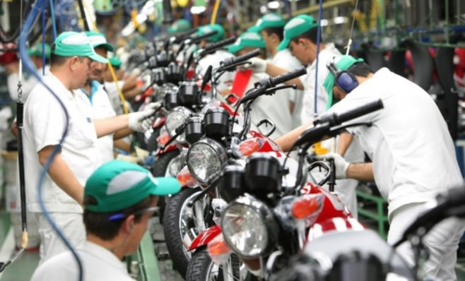 Imagem ilustrativa da notícia: Honda: 24 milhões de motocicletas produzidas aqui.