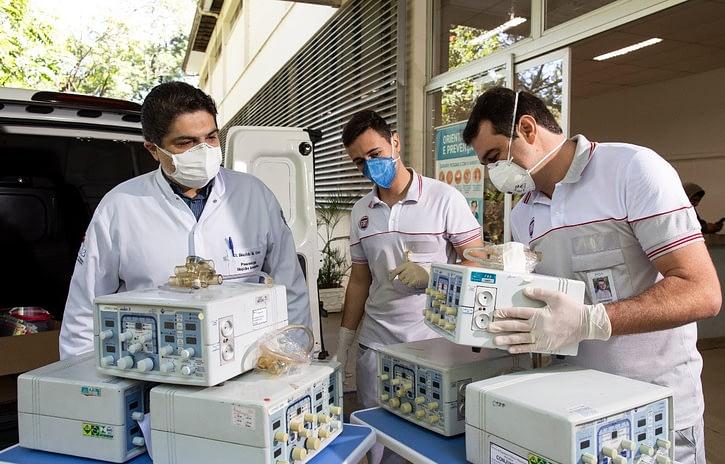 Imagem ilustrativa da notícia: FCA devolve oitenta respiradores a hospitais