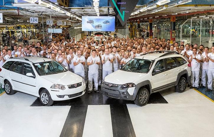 Imagem ilustrativa da notícia: Fiat produz em Betim a última Weekend