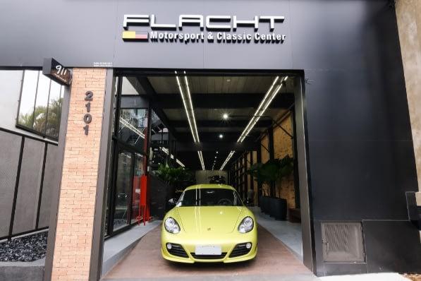 Imagem ilustrativa da notícia: Flacht, uma oficina só para Porsche