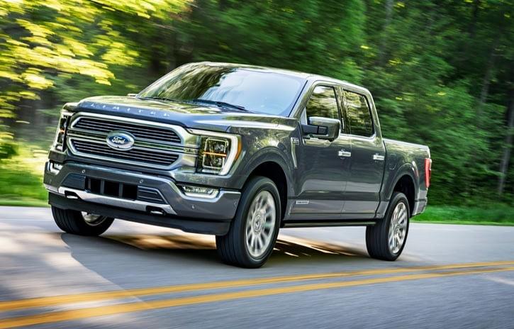 Imagem ilustrativa da notícia: Ford apresenta a nova picape F-150