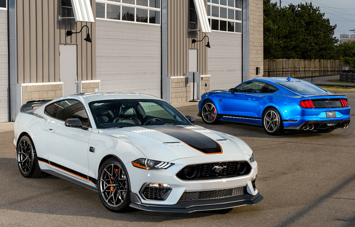 Imagem ilustrativa da notícia: Ford apresenta Mustang Mach 1
