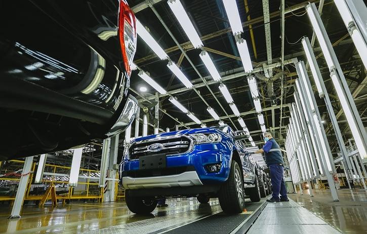 Imagem ilustrativa da notícia: Ford eleva em 30% ritmo da produção da Ranger