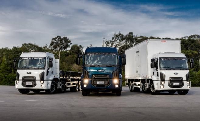 Imagem ilustrativa da notícia: Ford Caminhões expande linha Cargo com versão 8x2