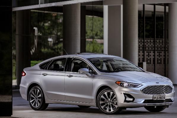 Imagem ilustrativa da notícia: Ford Fusion tem portfólio reduzido na versão 2019