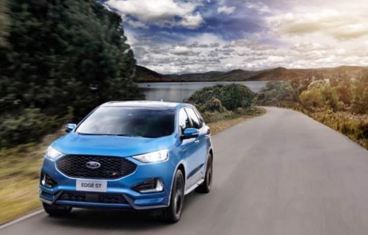 Imagem ilustrativa da notícia: Ford lança Edge ST importado por R$ 299 mil