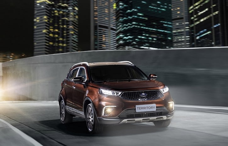 Imagem ilustrativa da notícia: Ford mostrará SUV Territory no Rock in Rio